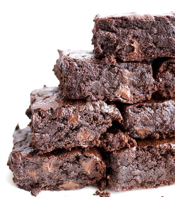 Best Dairy-Free Fudge Brownies