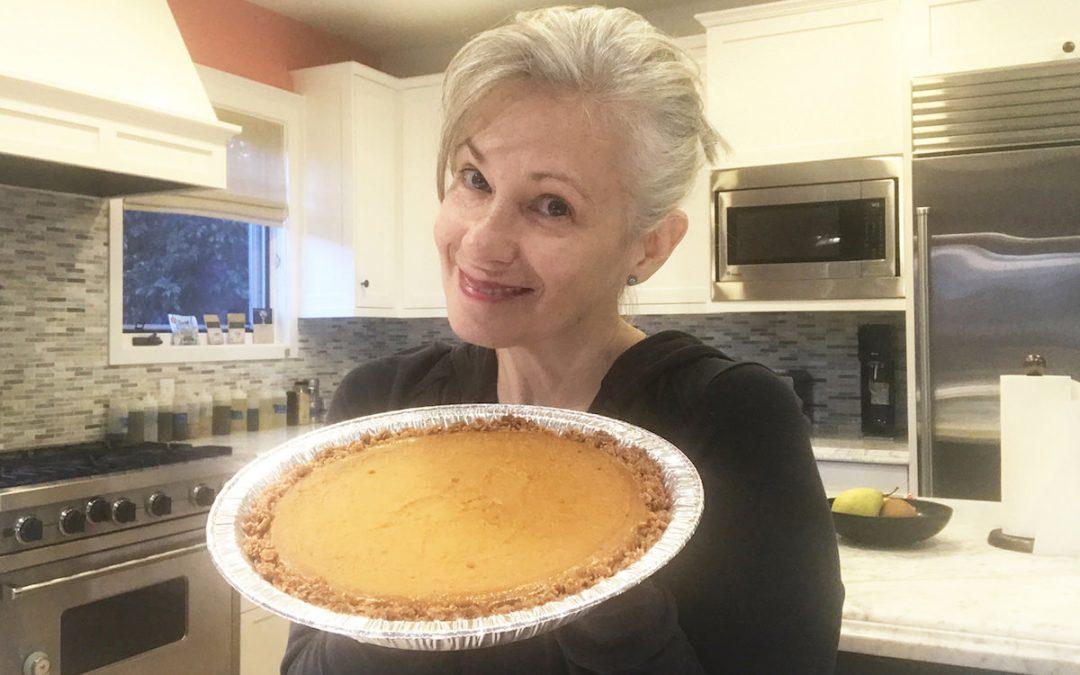 Dairy-Free Pumpkin Pie With Sweet Bran Crust