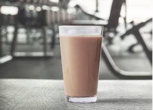 chocolate milk athlete