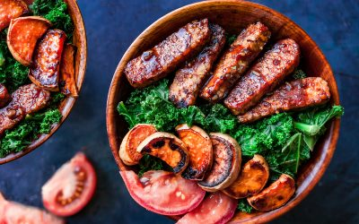BBQ Tempeh Soul Food Protein Bowl