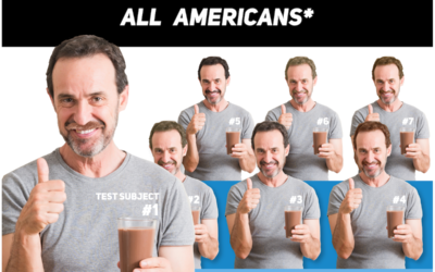Dairy Study Uses 7 White Men to Represent All Americans