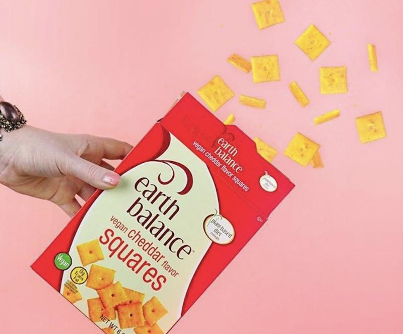 dairy-free cheese crackers