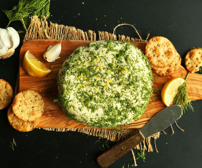 nut cheese wheel