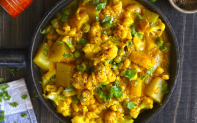 Quick Gobi Matar (Cauliflower and Pea Curry)